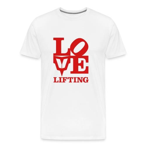 Love Lifting - Men's Premium T-Shirt
