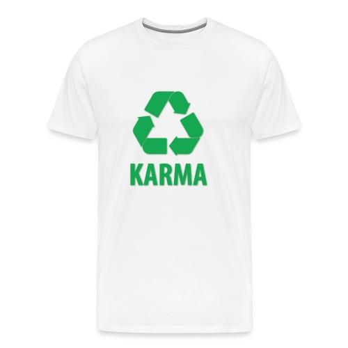Repeating karma - Men's Premium T-Shirt