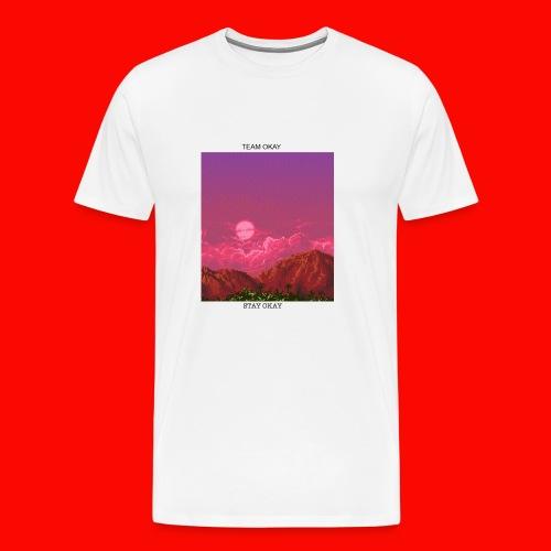 TEAM OKAY 8-bit - Men's Premium T-Shirt