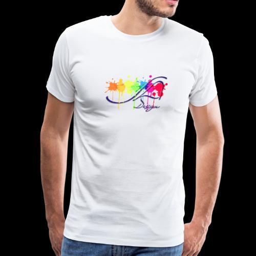 Design Logo - Men's Premium T-Shirt