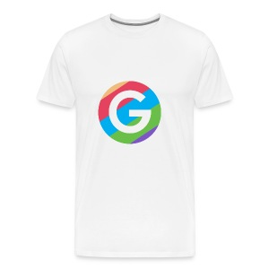 Goodnet Logo Round - Men's Premium T-Shirt