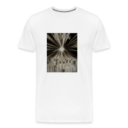 Black_and_White_Vision2 - Men's Premium T-Shirt