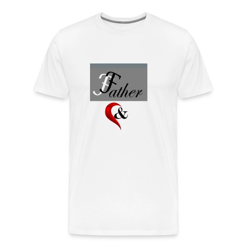 father n son 1 - Men's Premium T-Shirt