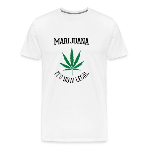 marijuana fan t-shirt - Men's Premium T-Shirt
