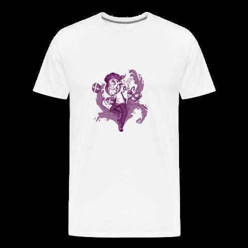 Splatoon Christmas inkling - Men's Premium T-Shirt