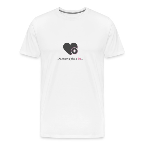 love t - Men's Premium T-Shirt