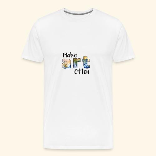 Make Art Often - Men's Premium T-Shirt