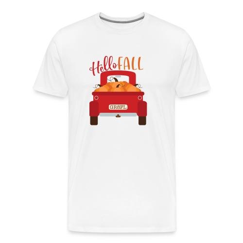 Hello Fall - Men's Premium T-Shirt