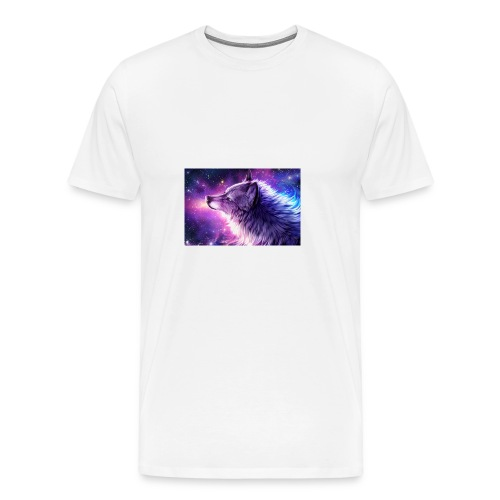 Galaxy Wolf - Men's Premium T-Shirt