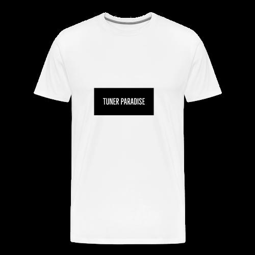 Tuner Paradise Signature Box Logo - Men's Premium T-Shirt
