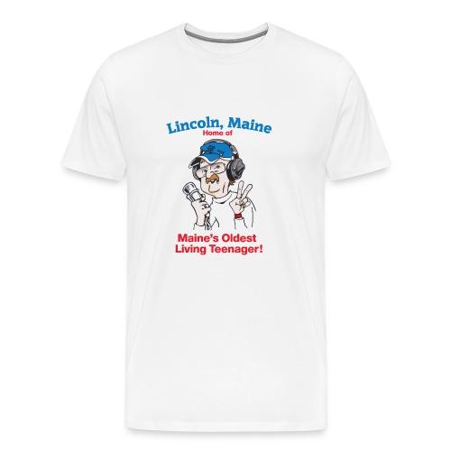 Maine's Oldest Living Teenager - Men's Premium T-Shirt