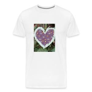 IMG 20180328 152154 its the heart of true love - Men's Premium T-Shirt