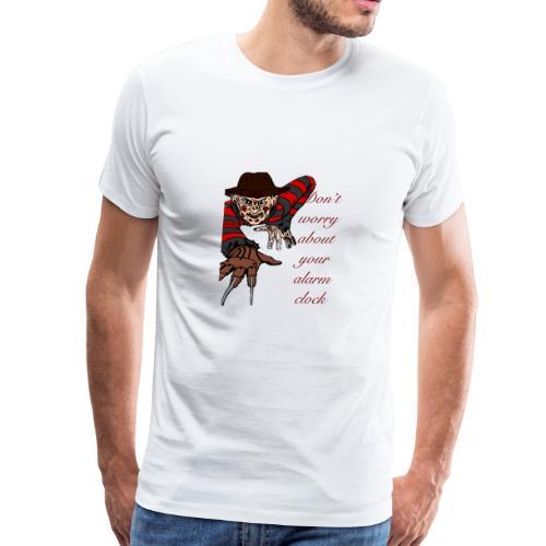 Freddy alarm clock - Men's Premium T-Shirt