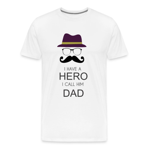 Hero Daddy - Men's Premium T-Shirt