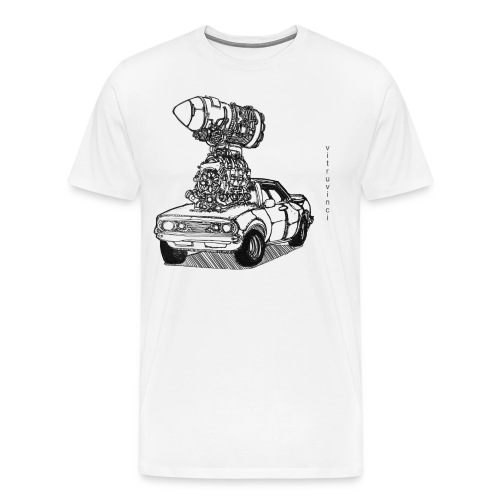 2 Fast 2 Curious - Men's Premium T-Shirt