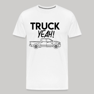 Truck yeah - Men's Premium T-Shirt