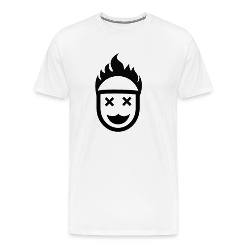 Hot Head / Dead Eyes. No Christ No Life! - Men's Premium T-Shirt