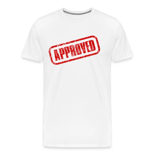 approved logo - Men's Premium T-Shirt
