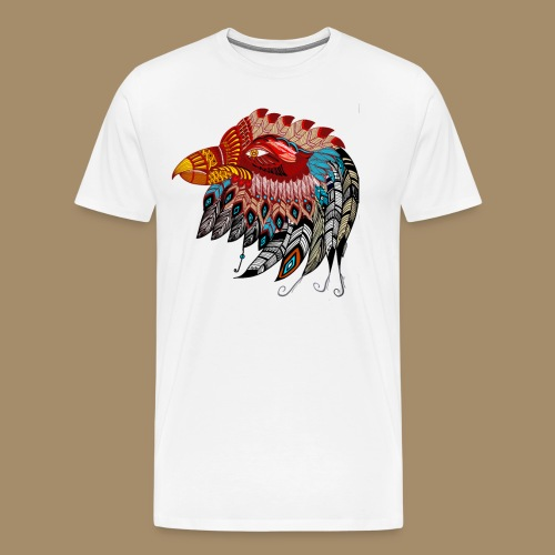 Eagle Tribal Animal Spirit Totem - Men's Premium T-Shirt