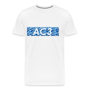 AC3 bape Supreme logo - Men's Premium T-Shirt