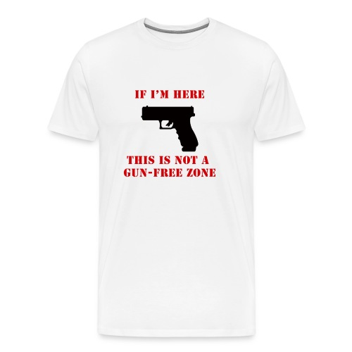 GunFreeZone - Men's Premium T-Shirt