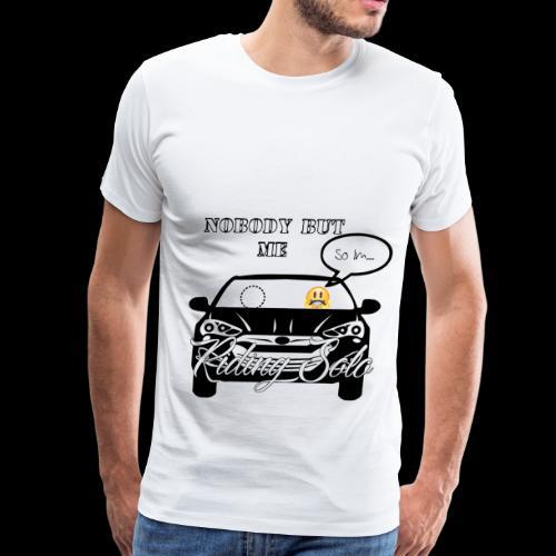 Riding Solo - Men's Premium T-Shirt