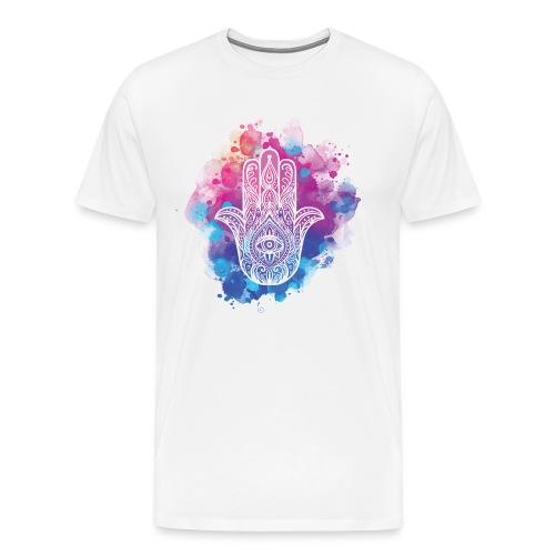 Hamsa Hand of Fatima - Men's Premium T-Shirt