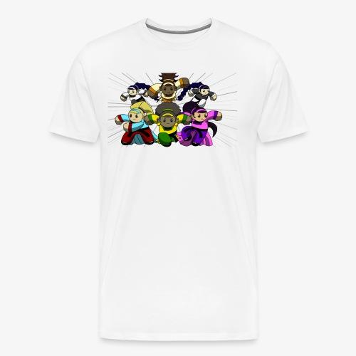 The Guardians of the Cloudgate, no logo - Men's Premium T-Shirt