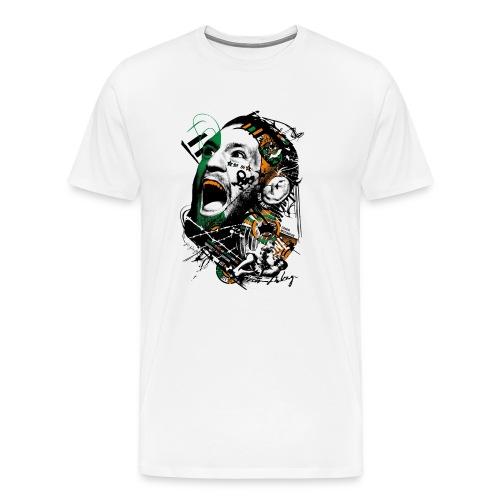Conor McGregor Fury - Men's Premium T-Shirt