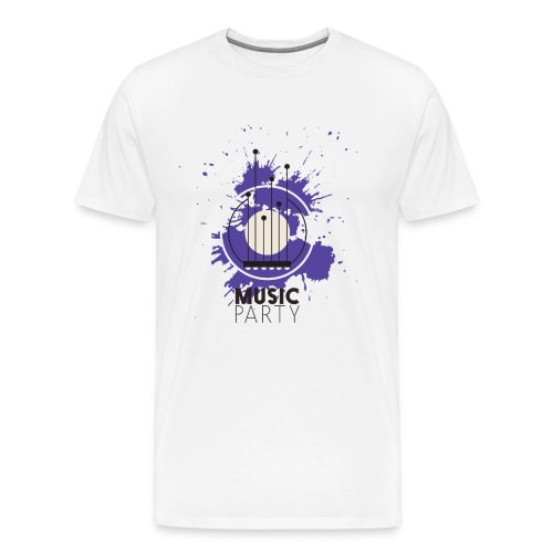 Music party - Men's Premium T-Shirt