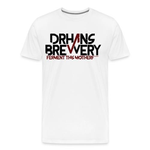 DrHans Brewery Logo - Men's Premium T-Shirt