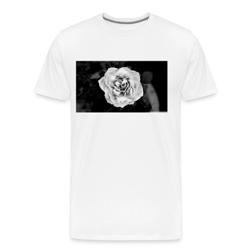 White Rose - Men's Premium T-Shirt