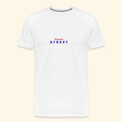 Paper Street Logo - Men's Premium T-Shirt