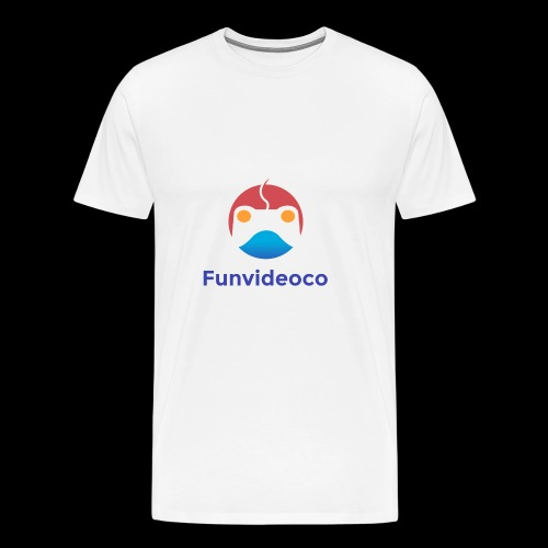 Fun Video Co logo - Men's Premium T-Shirt