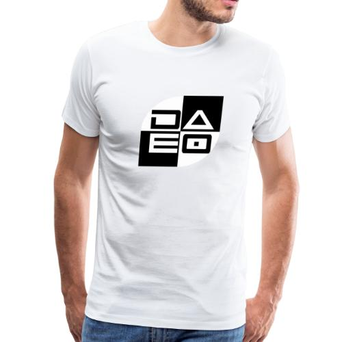DAE0 logo with pointed edges - Men's Premium T-Shirt