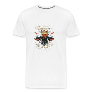 Demon Vintage Motorcycle - Men's Premium T-Shirt