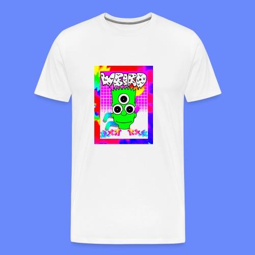 Weird Alien T-shirt - Men's Premium T-Shirt