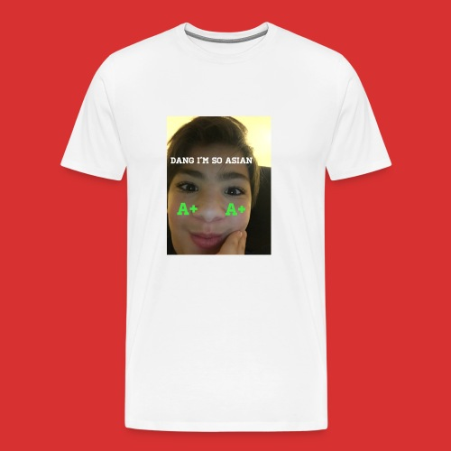 Asian guy - Men's Premium T-Shirt