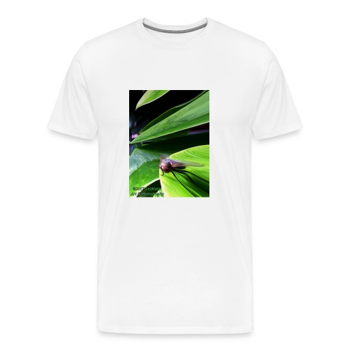 Fly On A Plant - Men's Premium T-Shirt