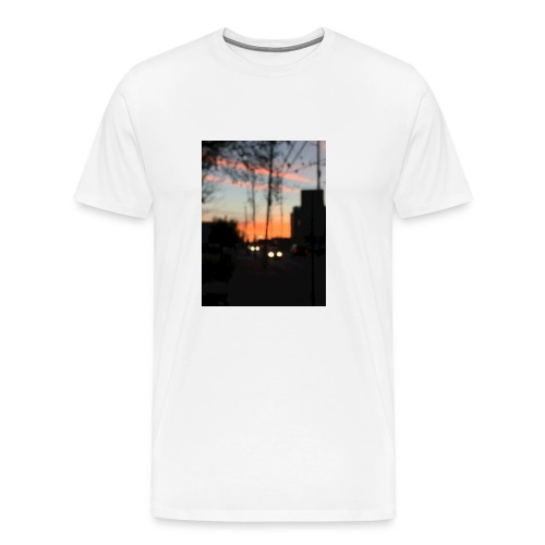 A blurry sunset - Men's Premium T-Shirt
