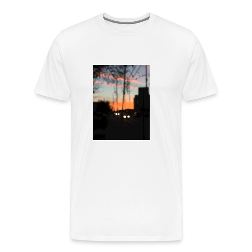 A blurry sunset - Men's Premium T-Shirt