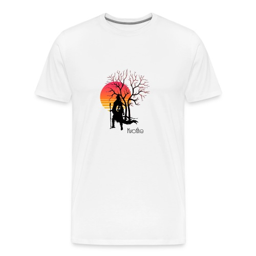 kvothe. The name of the wind. - Men's Premium T-Shirt