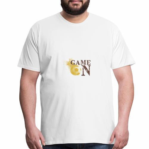 Game ON ! football soccer worldcup 2018 russia - Men's Premium T-Shirt