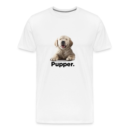 Pupper dog - Men's Premium T-Shirt