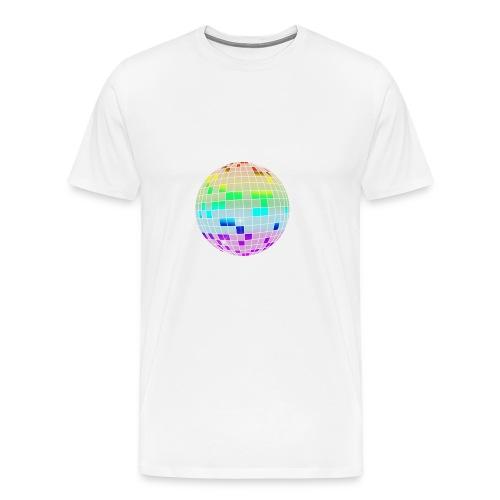 colorful disco ball - Men's Premium T-Shirt