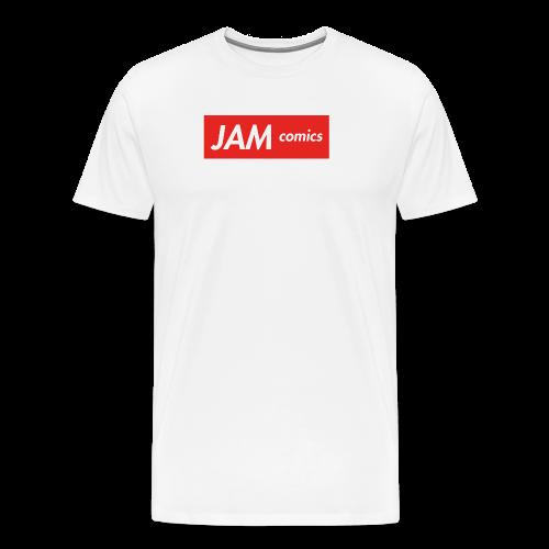 JAM comics logo (Supreme Style) - Men's Premium T-Shirt