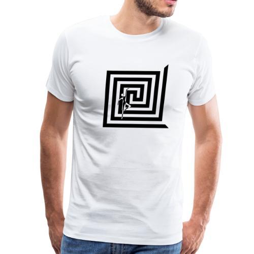 Minimalist Graphic T-Shirt for Men and Womens - Men's Premium T-Shirt
