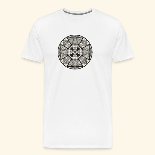Mandala The Power of potency - Men's Premium T-Shirt