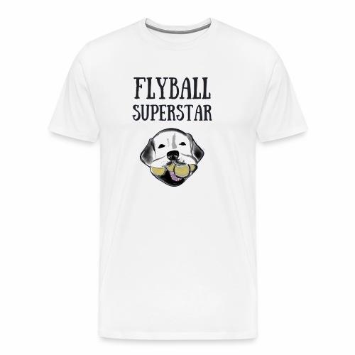 Flyball Superstar - Men's Premium T-Shirt