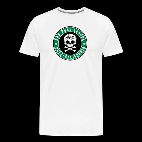Bar Pong Badge Logo - Men's Premium T-Shirt